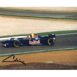 Karl Wendlinger  original authentic genuine autograph signed photo
