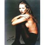 Kate Moss authentic signed genuine signature