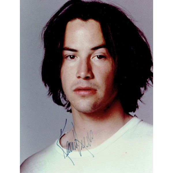 Keanu Reeves  authentic genuine autograph signed photo