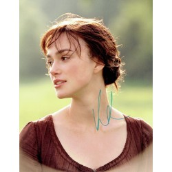 Keira Knightly original authentic genuine signed photo