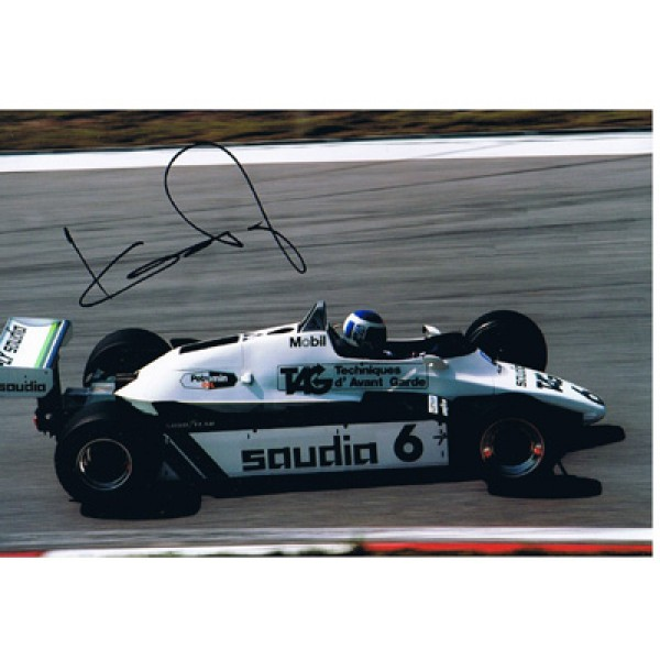 Keke Rosberg genuine original signed autograph photo