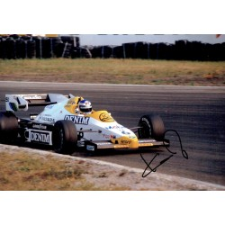 Keke Rosberg  genuine signed authentic autograph photo