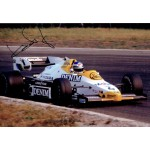 Keke Rosberg original authentic genuine signed autograph photo