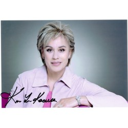Kiri Te Kanawa  original authentic genuine autograph signed photo