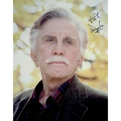 Kirk Douglas  original authentic genuine autograph signed photo