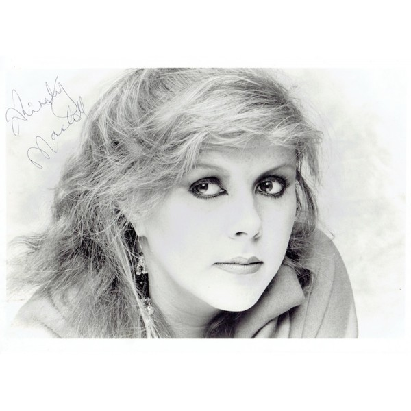 Kirsty MacColl original authentic genuine signed photo