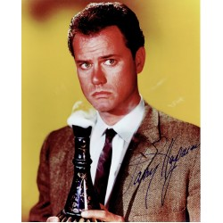 Larry Hagman  authentic genuine autograph signed photo