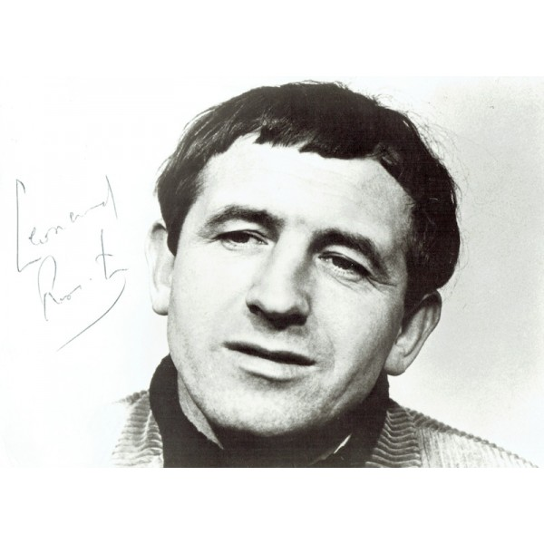 Leonard Rossiter  authentic genuine autograph signed photo