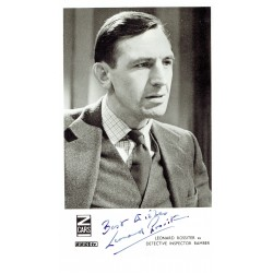 Leonard Rossiter signed authentic genuine signature