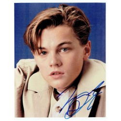 Leonardo Di Caprio  authentic genuine autograph signed photo
