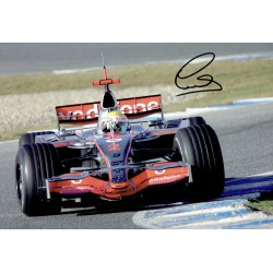 Lewis Hamilton genuine original authentic signed autograph photo