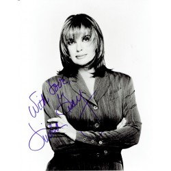 Linda Gray  original authentic genuine autograph signed photo