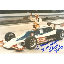 Lloyd Ruby original authentic genuine signed autograph photo