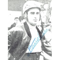 Lorenzo Bandini genuine authentic signed autograph signatures photo