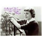 Lotte Lenya  authentic genuine signed autographs photo