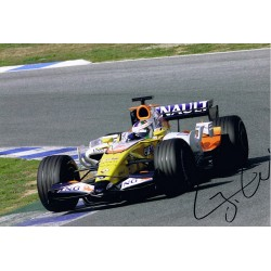 Lucas Di Grassi signed authentic genuine signature