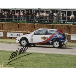 Malcolm Wilson original authentic genuine signed autograph photo