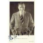 Manfred Van Brauchtisch signed authentic genuine signature