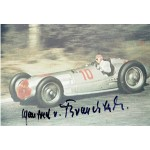 Manfred Von Brauchitsch original authentic genuine signed autograph photo