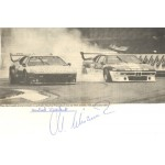 Manfred Winkelhock genuine original authentic signed autograph