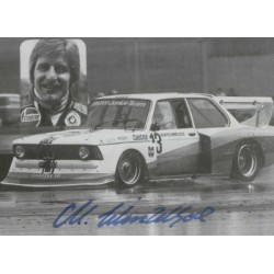 Manfred Winkelhock genuine original authentic signed autograph photo