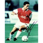 Marc Overmars original authentic genuine signed photo