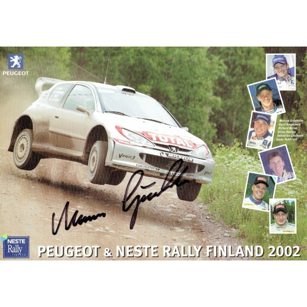 Marcus Gronholm  genuine signed authentic autograph photo