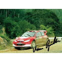 Marcus Gronholm original authentic genuine signed autograph photo