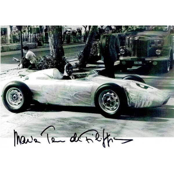 Maria De Filippis original authentic genuine signed photo
