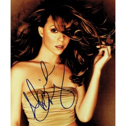 Mariah Carey original authentic genuine signed photo