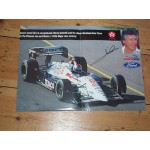 Mario Andretti genuine original authentic signed autograph