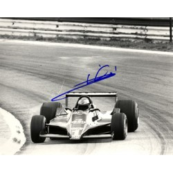 Mario Andretti genuine original authentic signed autograph photo