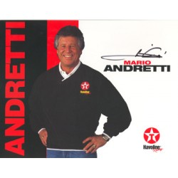 Mario Andretti  genuine signed authentic autograph photo