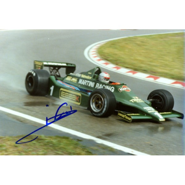Mario Andretti genuine signed original autograph photo