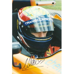 Mark Webber  genuine signed authentic autograph photo
