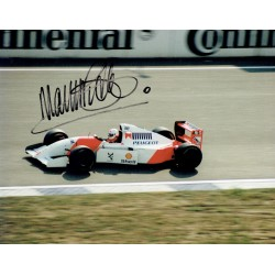 Martin Brundle  genuine original signed autograph photo