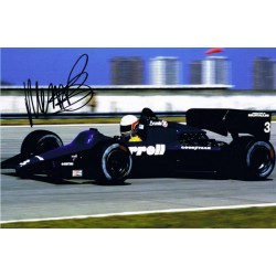 Martin Brundle signed authentic genuine signature photo