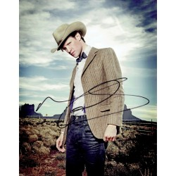 Matt Smith original authentic genuine signed photo