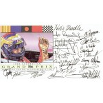 Mclaren 1989. Senna Prost genuine authentic signed autograph signatures