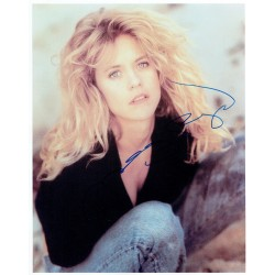 Meg Ryan  original authentic genuine autograph signed photo