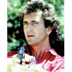 Mel  Gibson original authentic genuine signed photo