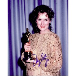 Meryl Streep  original authentic genuine autograph signed photo