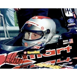 Michael Andretti genuine original authentic signed autograph photo