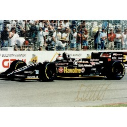 Michael Andretti  original authentic genuine autograph signed photo