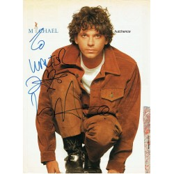 Michael Hutchence  authentic genuine signed autographs