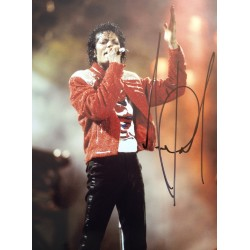 Michael Jackson genuine authentic signed autograph signatures photo