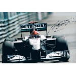 Michael  Schumacher authentic genuine signed autograph  photo