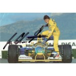 Michael Schumacher original authentic genuine signed photo