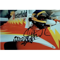 Michele Alboreto genuine original authentic signed autograph photo