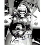 Michele Alboreto signed authentic genuine signature